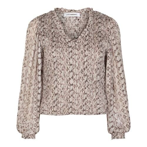 Co Couture python blouse