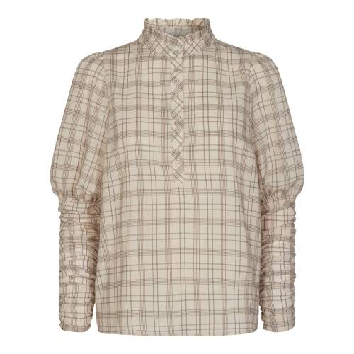 Co Couture rowland check shirt