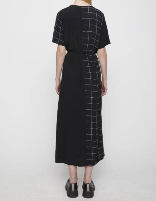 Halle maxi wrap dress